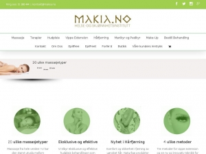 Makia.no - the best beauty clinic in Oslo
